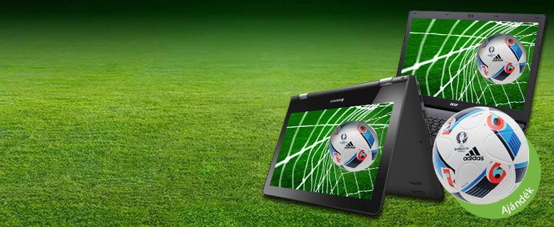 Notebook ajándék focilabdával!