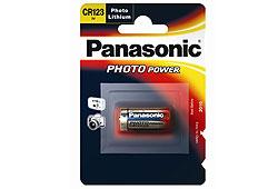 Panasonic CR123A 1400mAh 3V lítium fotóelem