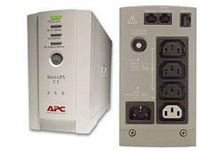 APC Back-UPS CS 350VA szünetmentes tápegység (BK350EI)