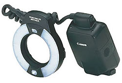 Canon Macro ring Lite MR-14 EX körvaku
