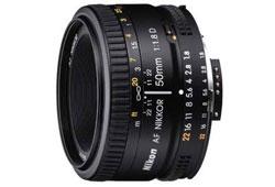 Nikon 50/F1.8 AF-D objektív
