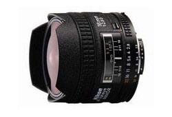 Nikon 16/F2.8 AF-D Fisheye objektív