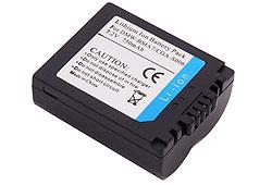 RealPower Panasonic CGA-S006E/1B, CGA-S006E, CGA-S006 7.4V 750mAh utángyártott Li-ion akkumulátor