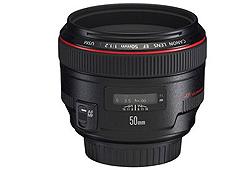 Canon 50/F1.2 L EF USM objektív