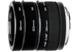 Kenko DG makró közgyűrű szett Canon 12/20/36 mm