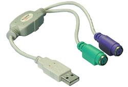 Delock 61244 USB -> PS2 átalakító