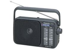 Panasonic RF-2400EG-K hordozható rádió