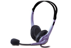 Genius HS-04S mikrofonos fejhallgató
