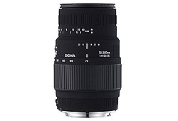Sigma Minolta/Sony 70-300/4-5.6 DG Macro objektív