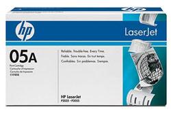 HP LaserJet CE505A toner, fekete