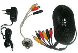 Global 901C színes minikamera szett