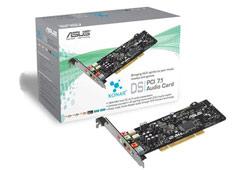 Asus XONAR DS PCI hangkártya