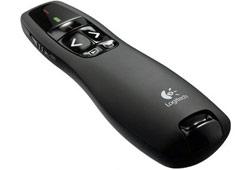 Logitech Wireless R400 Presenter USB vezeték nélküli optikai prezentációs eszköz