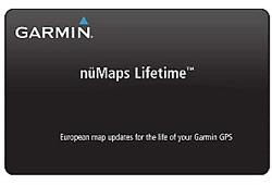 Garmin nüMaps Lifetime Europe térképfrissítés