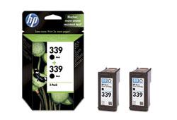 HP C9504EE fekete tintapatron csomag, 2db HP 339 patron (C8767E)