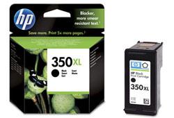 HP 350 XL (CB336EE) fekete nagy kapacítású tintapatron