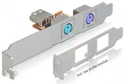 DeLock 61589 belső billentyűzet átalakító (1x USB -> 2x PS2)