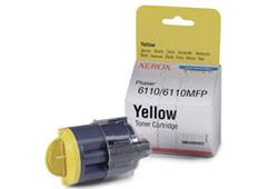 Xerox 106R01204 sárga toner, Phaser 6110/6110MFP