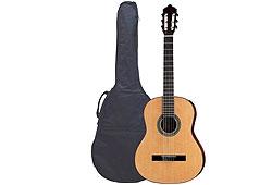 Romanza R-C390 klasszikus gitár tokkal