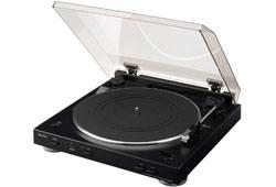 Denon DP-200USB automata analóg lemezjátszó MP3 kódolással, fekete