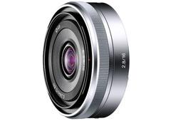 Sony 16/F2.8 E objektív
