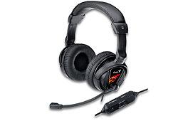 Genius HS-G500V gamer mikrofonos fejhallgató